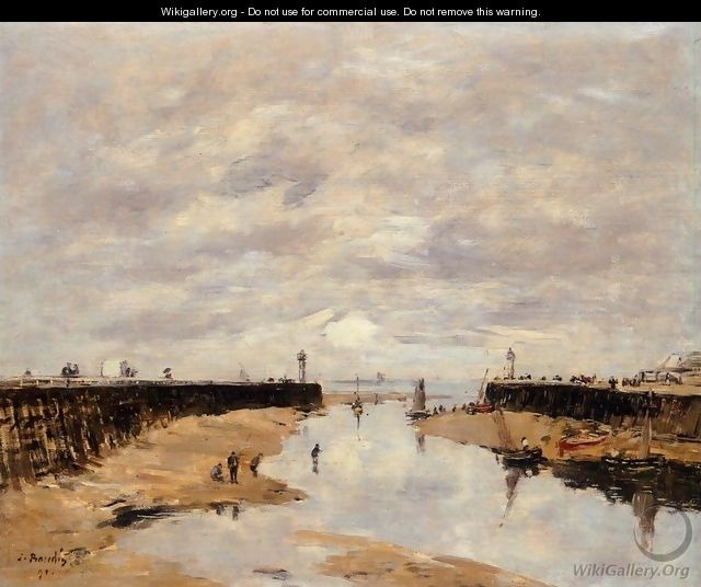 The Port 1886 - Eugène Boudin