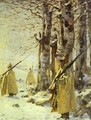 Picket In The Balkan Mountains 1878 - Vasili Vasilyevich Vereshchagin