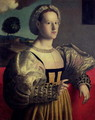 Portrait of a lady 2 - (circle of) Ubertini, (Bacchiacca)