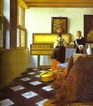 The Music Lesson 1662-1665 - Jan Vermeer Van Delft