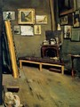 Studio of the Rue Visconti 1867 - Frederic Bazille