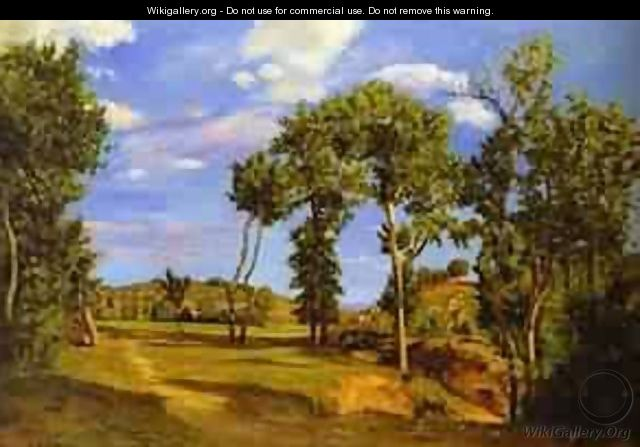 Landscape On The Shore Of Lez 1870 - Frederic Bazille