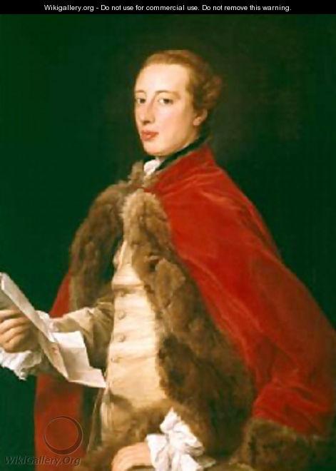 William Fermor 1758 - Pompeo Gerolamo Batoni