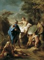 Venus Presenting Aeneas with Armour Forged by Vulcan 1748 - Pompeo Gerolamo Batoni