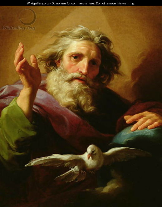 God the Father 1779 - Pompeo Gerolamo Batoni