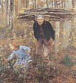 The Wood Gatherer - Jules Bastien-Lepage