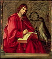 St John the Evangelist from the St Thomas altarpiece - P. Joos van Gent and Berruguete