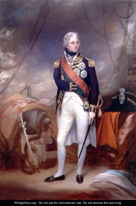 Portrait of Horatio Viscount Nelson - Sir William Beechey