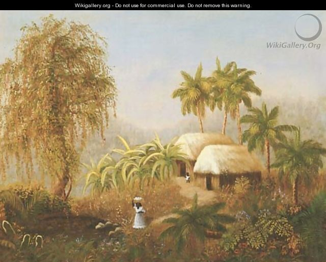 Tropical Scene - American School