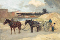 The Sand Cart - Amedee Marcel-Clement