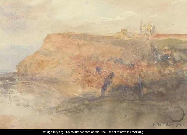 Sunset at Whitby a sketch - (after) Le Moyne, Jacques (de Morgues)