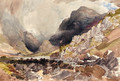 Gap of Dunlo', Purple Mount, Reeks - Alfred William Hunt