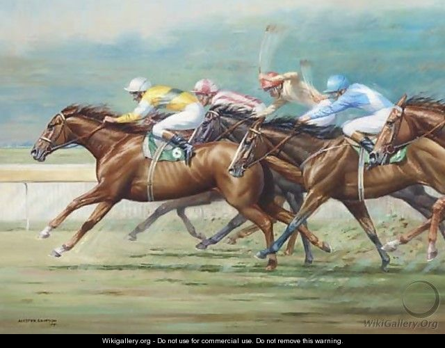 Racing at Ranwick - A. Simpson