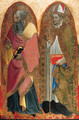 Saints John the Evangelist and Saint Augustine a panel from a polyptych - Alvaro Di Pietro (Pirez D'Évora)