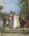 The wedding party - Alonso Perez