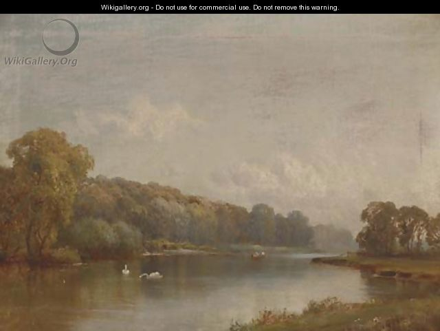 Quarry Wood, Marlow - Alfred de Breanski