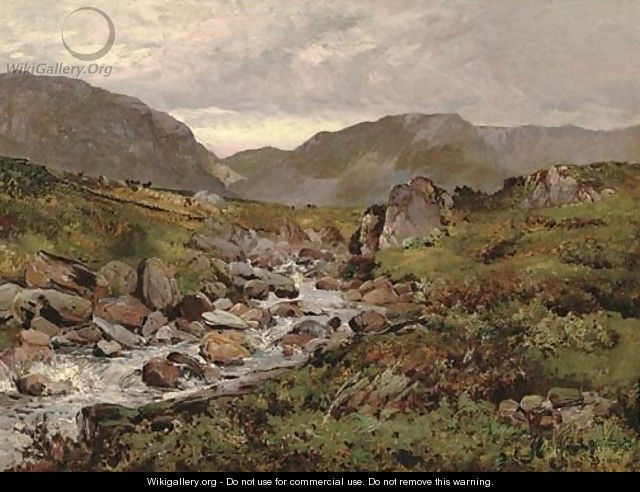 Capel Curig, North Wales - Alfred de Breanski