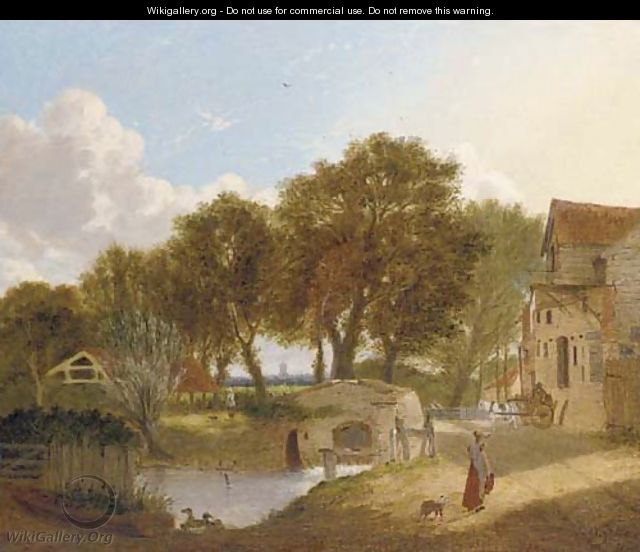 The old mill - Alfred Stannard