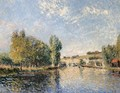 Le Loing a Moret - Alfred Sisley