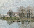 Bords de Seine aA'A  Port-Marly - Alfred Sisley
