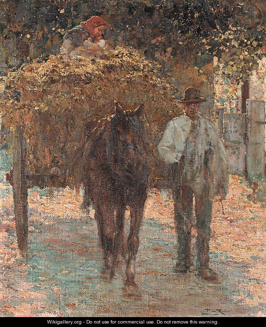 The haywagon - Alberto Pla y Rubio