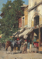 In the Marketplace, Istanbul - Alberto Pasini