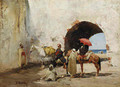 A Rest by the Beach - Alberto Pasini