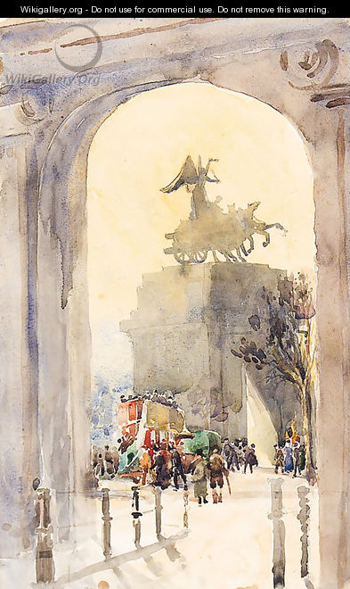 The Quadriga, Hyde Park - Albert Ludovici