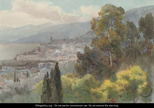 View of Cannes - Alfred Stevens