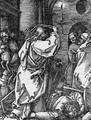 Christ driving the Money Changers from the Temple, from The Small Passion - Albrecht Durer