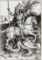 St. George killing the Dragon - Albrecht Durer