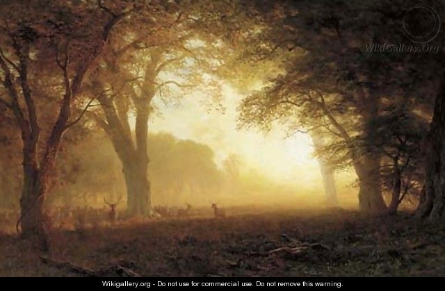 Golden Light of California - Albert Bierstadt