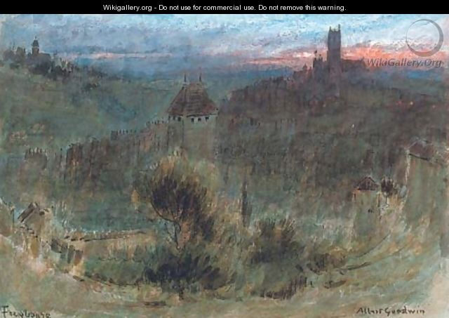 Freyburg, Germany - Albert Goodwin