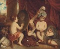Infant Academy - (after) Sir Joshua Reynolds