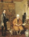 The letter of introduction - (after) Sir David Wilkie