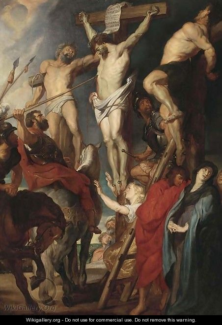 The Crucifixion - (after) Sir Peter Paul Rubens