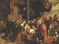 The Adoration of the Magi - (after) Sir Peter Paul Rubens