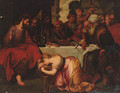 Christ in the House of Simon the Pharisee - (after) Sir Peter Paul Rubens