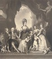 The Marlborough Family, by Charles Turner - (after) Sir Joshua Reynolds