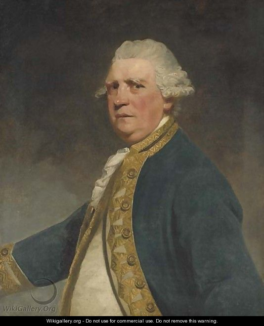 Portrait of Admiral Augustus Keppel - (after) Sir Joshua Reynolds