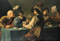 Cardplayers - Salomon Rombouts