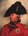 Portrait of George III, small quarter-length, in uniform - (after) Sir William Beechey