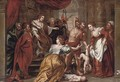 The Judgement of Solomon - (after) Sir Peter Paul Rubens