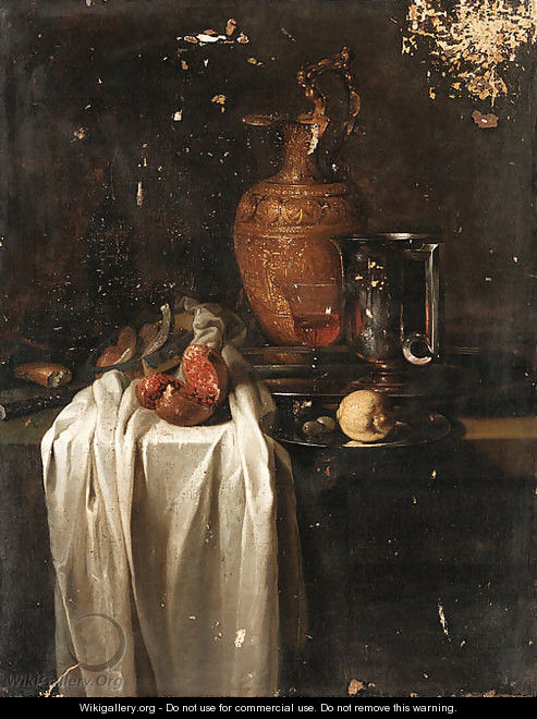 Still life - (after) Willem Kalf