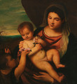 Madonna and Child with the Infant Saint John the Baptist - Tiziano Vecellio (Titian)