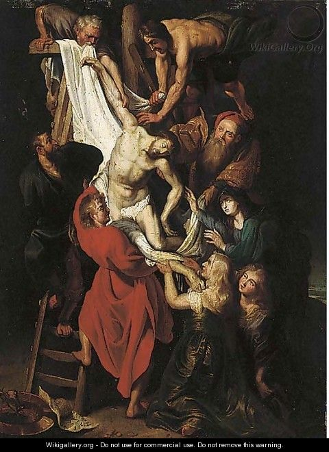 The Descent from the Cross - (after) Rubens, Peter Paul