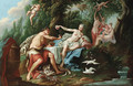 Venus and Bacchus - (after) Noel-Nicolas Coypel