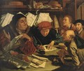 The Money Changers - (after) Marinus Van Reymerswaele