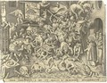 The Fall of the Magician Hermogenes, by P. van der Heyden - (after) Pieter The Elder Bruegel