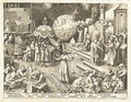 Temperantia, from The Set of the seven Virtues - (after) Pieter The Elder Bruegel